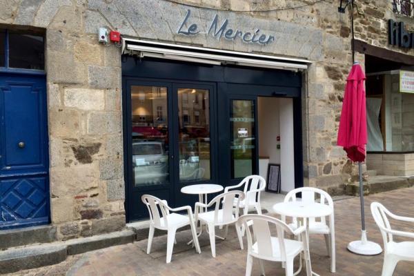 Devanture boulangerie Le Mercier Lamballe