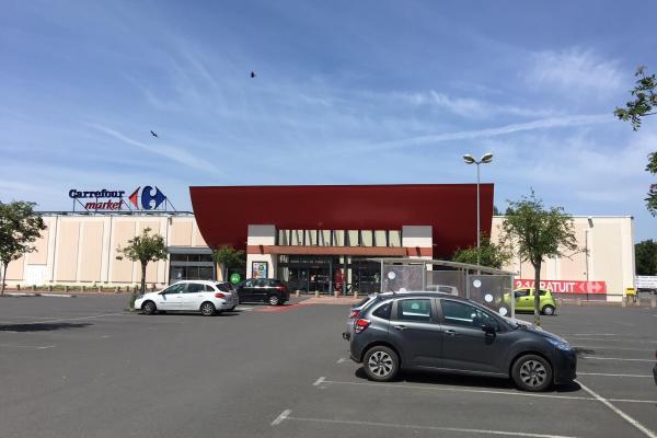 Devanture Carrefour Market Lamballe