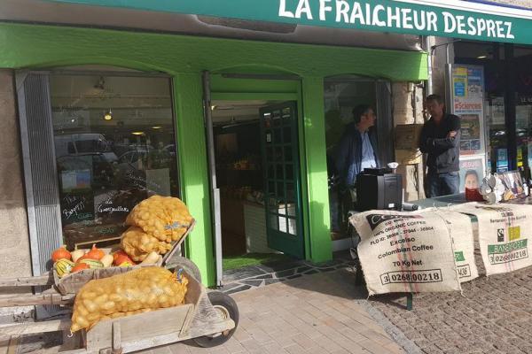 Devanture de magasin, La Fraicheur DESPREZ