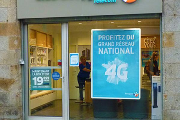 devanture Bouygues Telecom