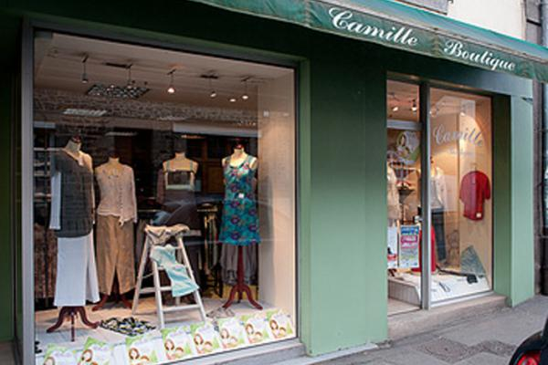 Devanture Camille Boutique