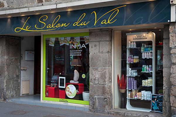 Devanture Le Salon du Val