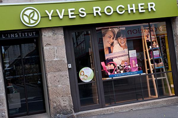 Devanture Yves Rocher