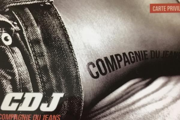 Enseigne La Compagnie du jeans