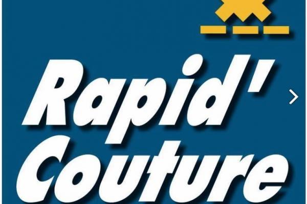 logo rapid'couture retouches mercerie lamballe