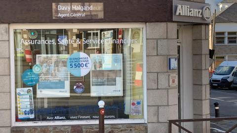 facade agence allianz st martin davy halgand lamballe