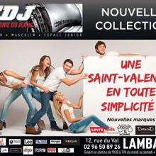 Nouvelles marques dans votre boutiques CDJ Lamballe, Levi's kids, Le temps des cerises et DeepEnd pour vous messieurs et OnYou pour vous mesdames!!!