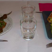 Présentation plats chez Camille et Margaux