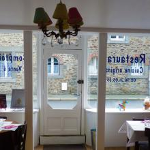 Entrée de Chez Camille et Margaux